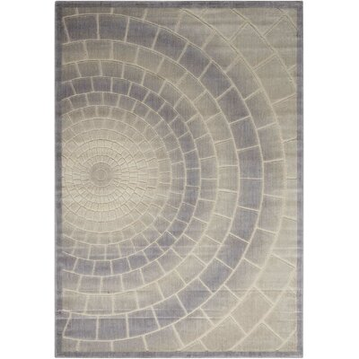 Cadmium Light Gray Area Rug Rug Size: Rectangle 53 x 75