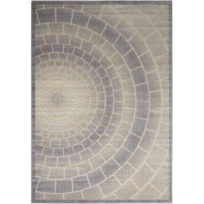 Cadmium Light Gray Area Rug Rug Size: 79 x 99