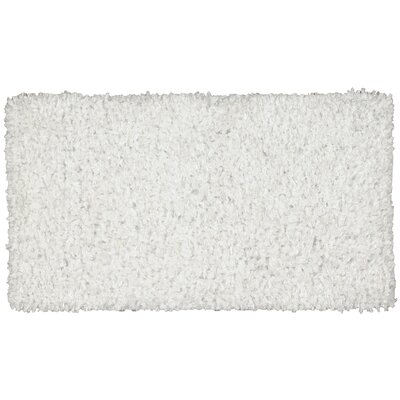 Servais White Area Rug Rug Size: Rectangle 18 x 29