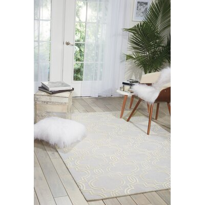 Latinne Handmade Beige Area Rug Rug Size: Rectangle 8 x 10