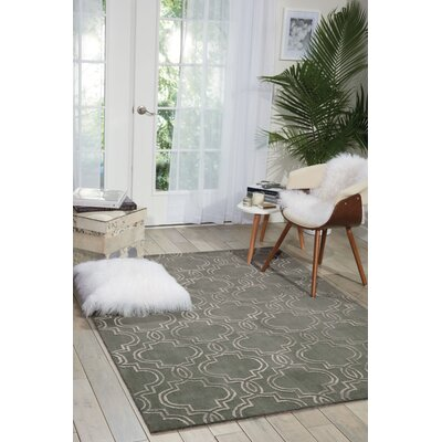 Latinne Handmade Moss Area Rug Rug Size: Rectangle 8 x 10