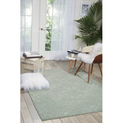Latinne Handmade Sage Area Rug Rug Size: Rectangle 8 x 10