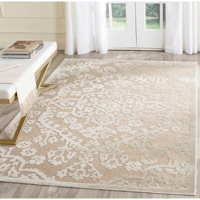 Applebaum Stone Area Rug Rug Size: Rectangle 53 x 76