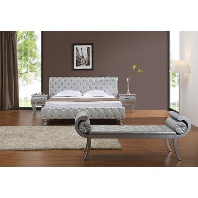 Gisela Upholstered Platform Bed Size: Queen
