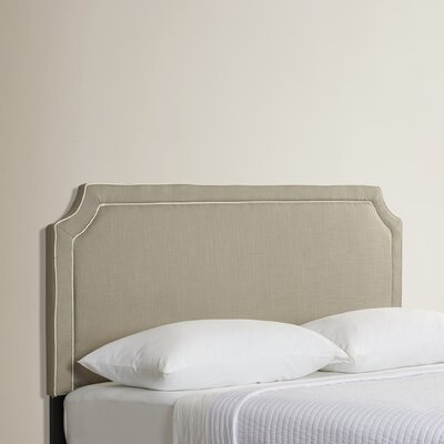 Forest Park King Upholstered Panel Headboard