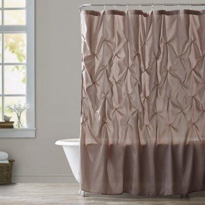 Ashton-under-Lyne Shower Curtain Color: Mushroom
