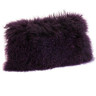 Valmont Lumbar Pillow Color: Purple