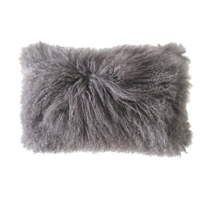 Valmont Lumbar Pillow Color: Grey