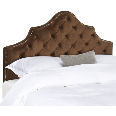 Grant Upholstered Panel Headboard Size: Queen