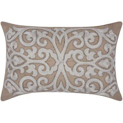 Sullivan Beaded Scroll Lumbar Pillow