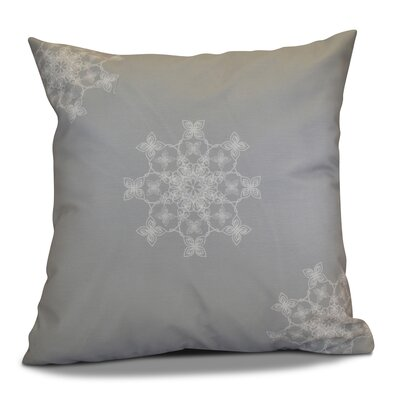 Decorative Holiday Geometric Print Throw Pillow Size: 20 H x 20 W, Color: Gray