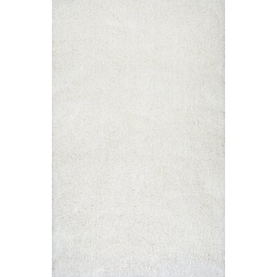 Seleucia Hand-Tufted Ivory Area Rug Rug Size: Rectangle 5 x 8
