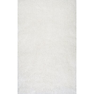 Seleucia Hand-Tufted Ivory Area Rug Rug Size: 76 x 96