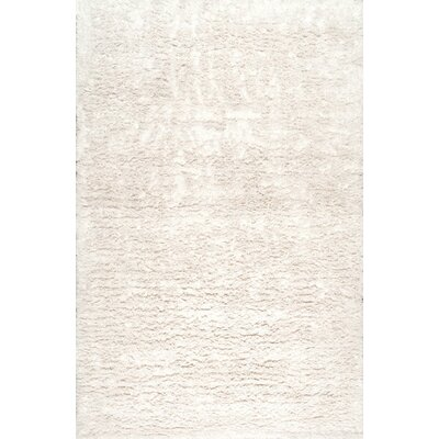 Koehn Hand-Tufted Ivory Area Rug Rug Size: Rectangle 5 x 8