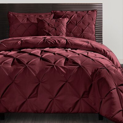 Mignault 4 Piece Comforter Set