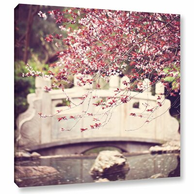 Blush Price Photographic Print on Wrapped Canvas Size: 10'' x 10''