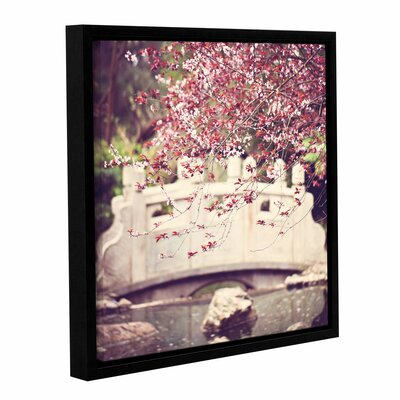 Blush Framed Photographic Print Size: 10'' x 10''