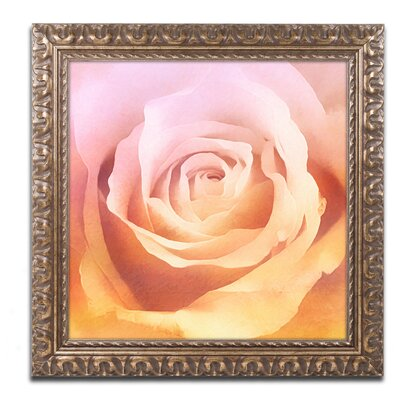 Rosie Framed Painting Print Size: 11