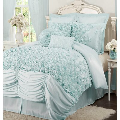 Felix 4 Piece Comforter Set Size: California King