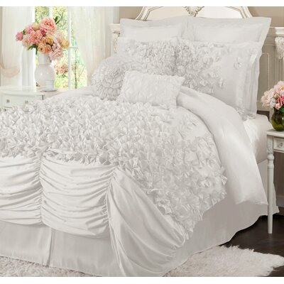 Felix 4 Piece Comforter Set Size: King