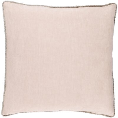Sera Down Throw Pillow Size: 18 H x 18 W x 4 D, Color: Taupe