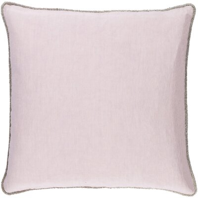 Sera Down Throw Pillow Size: 18 H x 18 W x 4 D, Color: Lavender