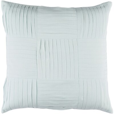 Doutzen Cotton Throw Pillow Size: 22 H x 22 W x 4 D, Color: Sea Foam