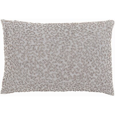 Selleck Rectangular Throw Pillow Color: Light Gray/Taupe