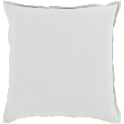 Cort Cotton & Linen Throw Pillow Size: 22 H x 22 W x 4 D, Color: Ivory