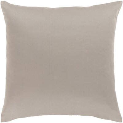 Austen Throw Pillow Size: 20 H x 20 W x 5 D, Color: Light Gray