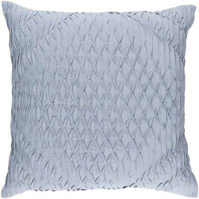 Vine Throw Pillow Size: 18 H x 18 W x 4 D, Color: Blue