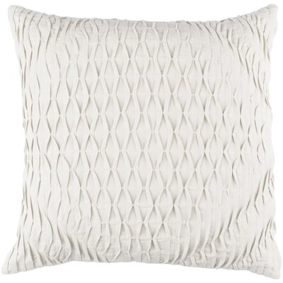 Vine Throw Pillow Color: Light Gray, Size: 22 H x 22 W x 4 D