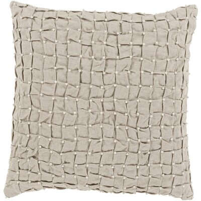 Curtiss Square Throw Pillow Color: Neutral