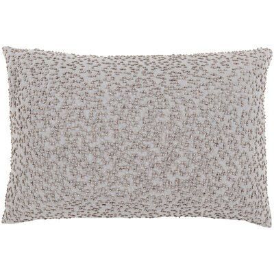 Selleck Lumbar Pillow Color: Light Gray / Taupe