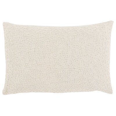 Quinn Throw Pillow Color: Ivory
