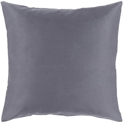 Austen Throw Pillow Size: 18 H x 18 W x 4 D, Color: Charcoal