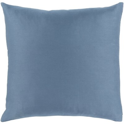 Austen Throw Pillow Size: 22 H x 22 W x 5 D, Color: Slate