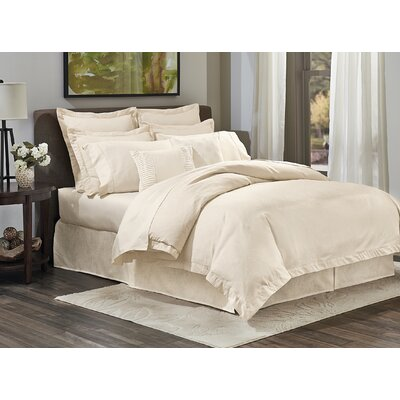 Deveral Traditional 400 Thread Count Cotton Naturals Sheet Set Size: Twin