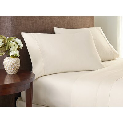 Deveral Cotton Naturals Solid Pillowcase Size: Large