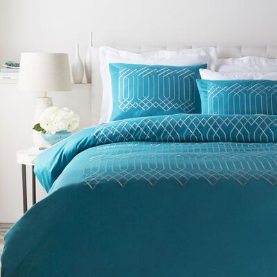 Kingsbridge Sham Color: Blue, Size: King