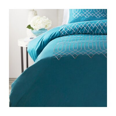 Tilstone Duvet Cover Size: Twin, Color: Blue