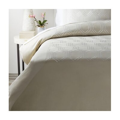 Brettany Duvet Cover Size: King, Color: Neutral