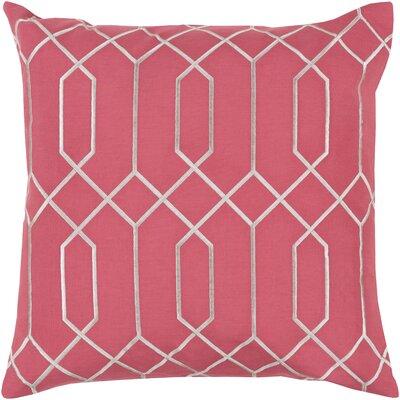 Honiton Linen Throw Pillow Size: 18