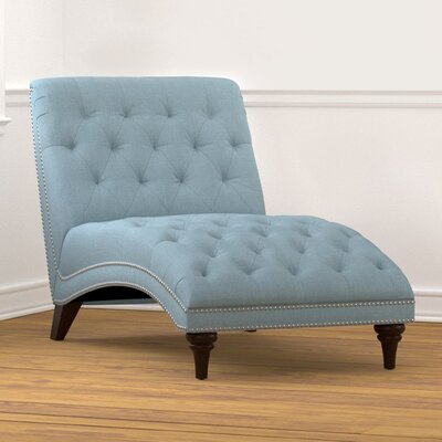 Cordella Chaise Lounge Color: Sky Blue
