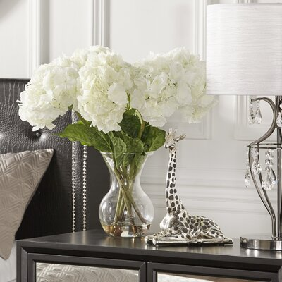 Lorelei Large Silk Hydrangeas in Vase