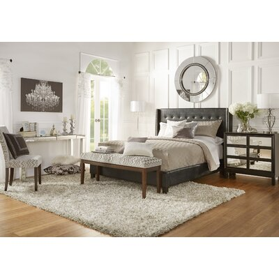 Full/Double Upholstered Platform Bed Size: Full
