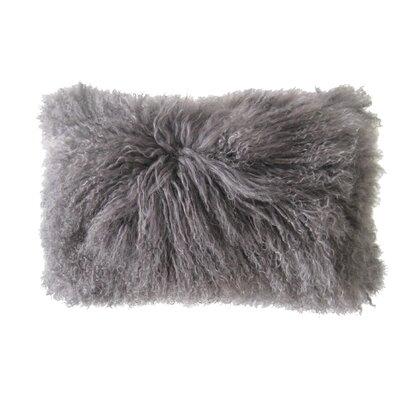 Valmont Lumbar Pillow Color: Grey