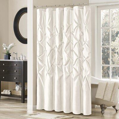 Ashton-under-Lyne Shower Curtain Color: White