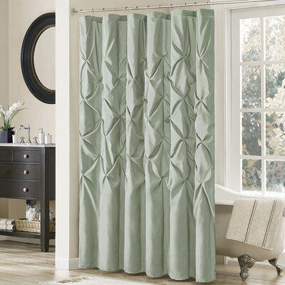 Ashton-under-Lyne Shower Curtain Color: Sage