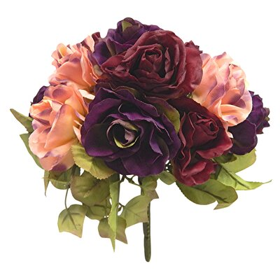 Faux Preserved Rose Bouquet